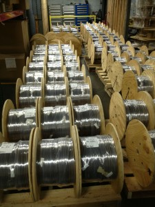 Image of Wire Spools Vertical
