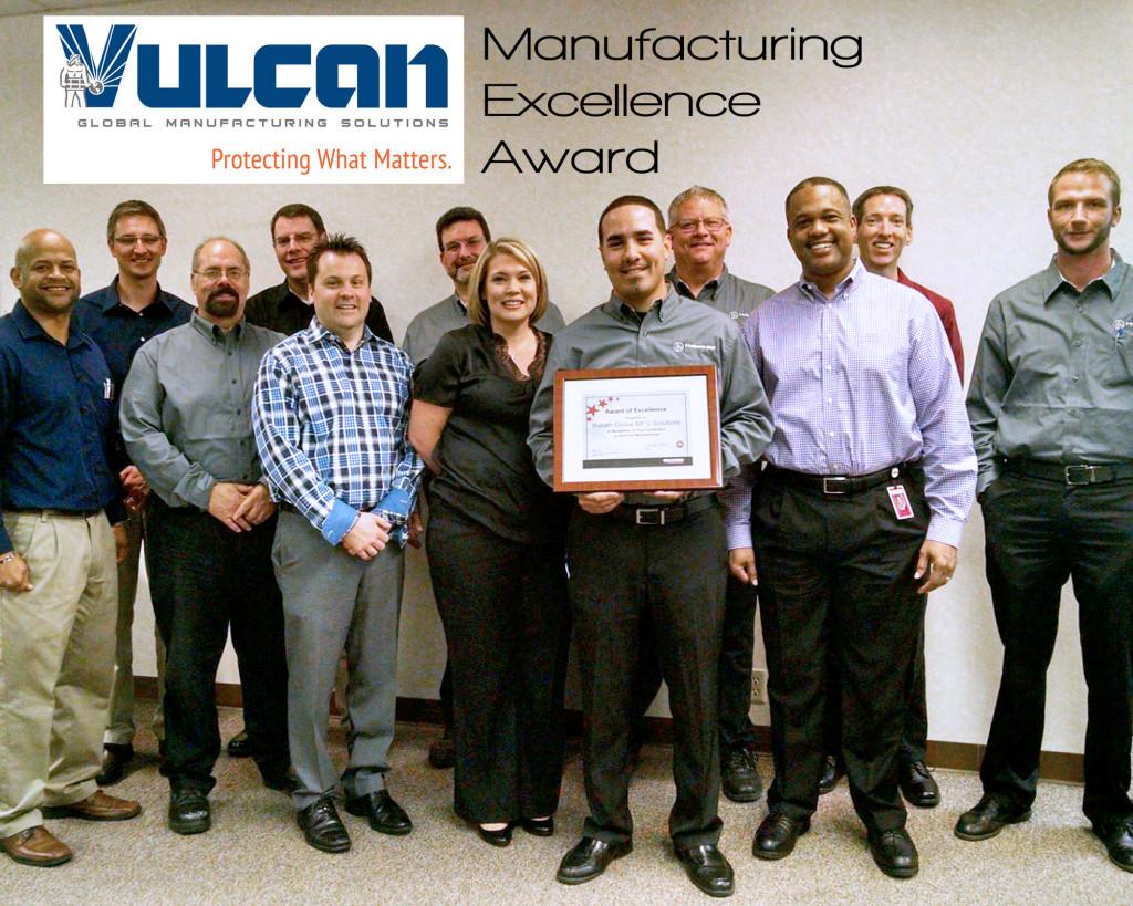 Image of Vulcan GMS Grainger Award