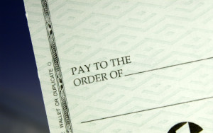 Image of Pay Check